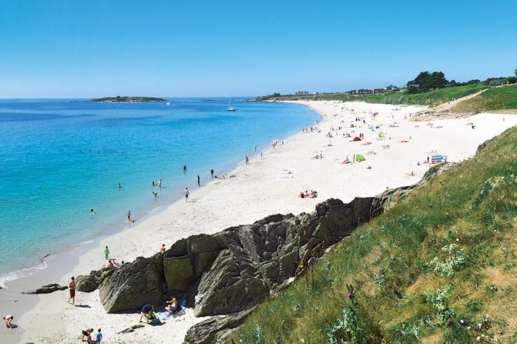 Campsite in Brittany